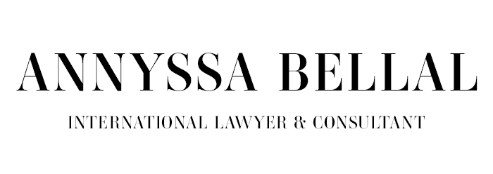 Annyssa Bellal INTERNATIONAL LAWYER AND CONSULTANT